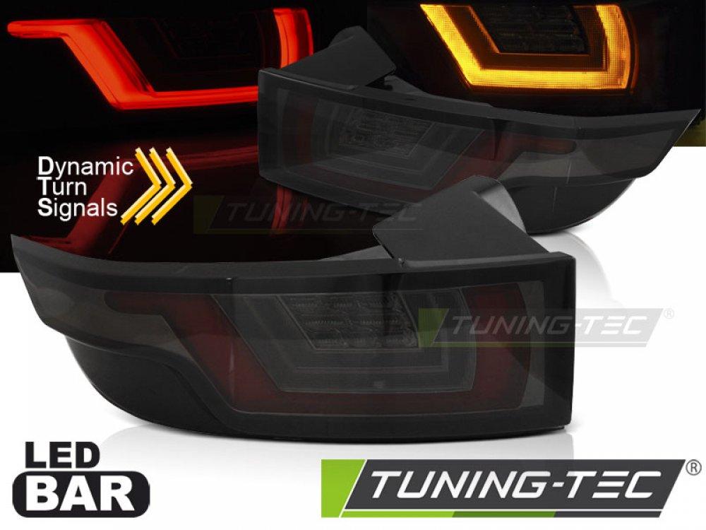 Задние фонари LED Dynamic Black Smoke от Tuning-Tec на Land Rover Evoque