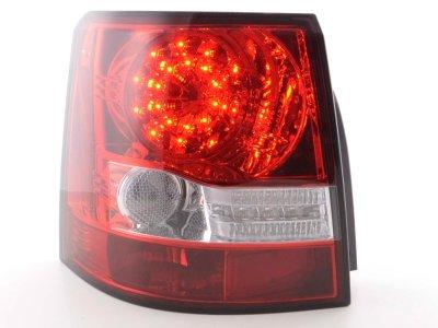 Задние фонари Led Bar Red Crystal на Range Rover Sport