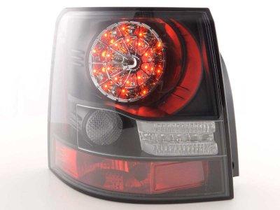 Задние фонари Led Bar Black на Range Rover Sport