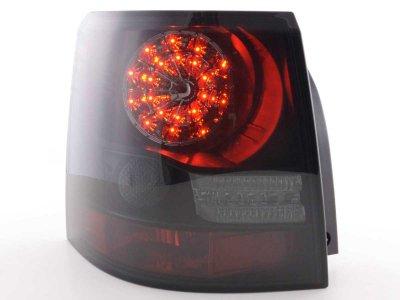 Задние фонари Led Bar Black Smoke на Range Rover Sport