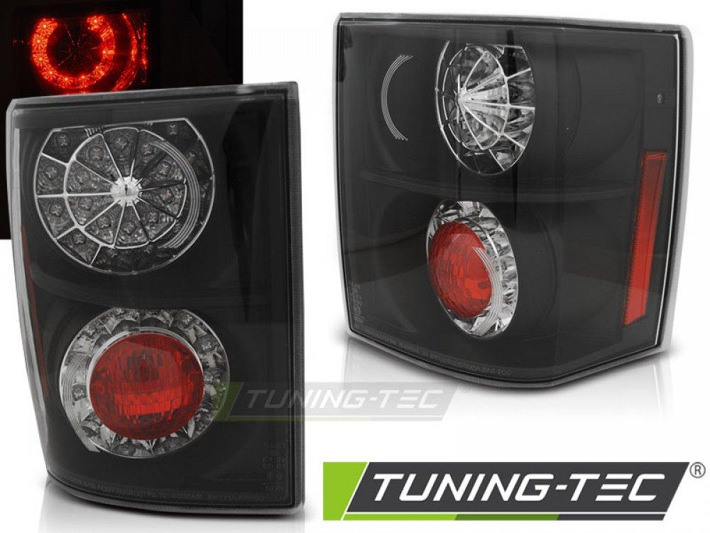 Задние диодные фонари Led Bar Black на Range Rover Vogue