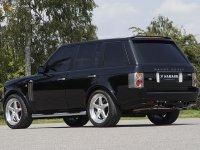 На Range Rover Vogue - задняя альтернативная оптика, фонари