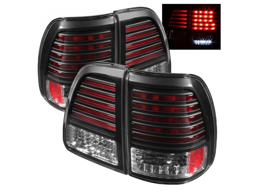 Фонари задние фонари Full Led Bar Black на Lexus LX 470