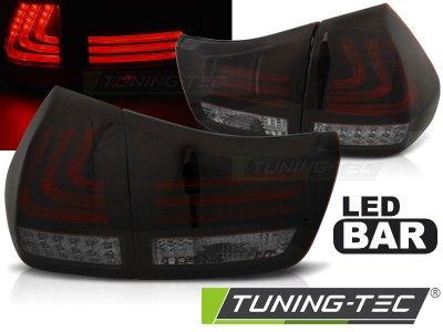 Задние фонари F-Style Led Bar Red Smoke на Lexus RX II 330 / 350