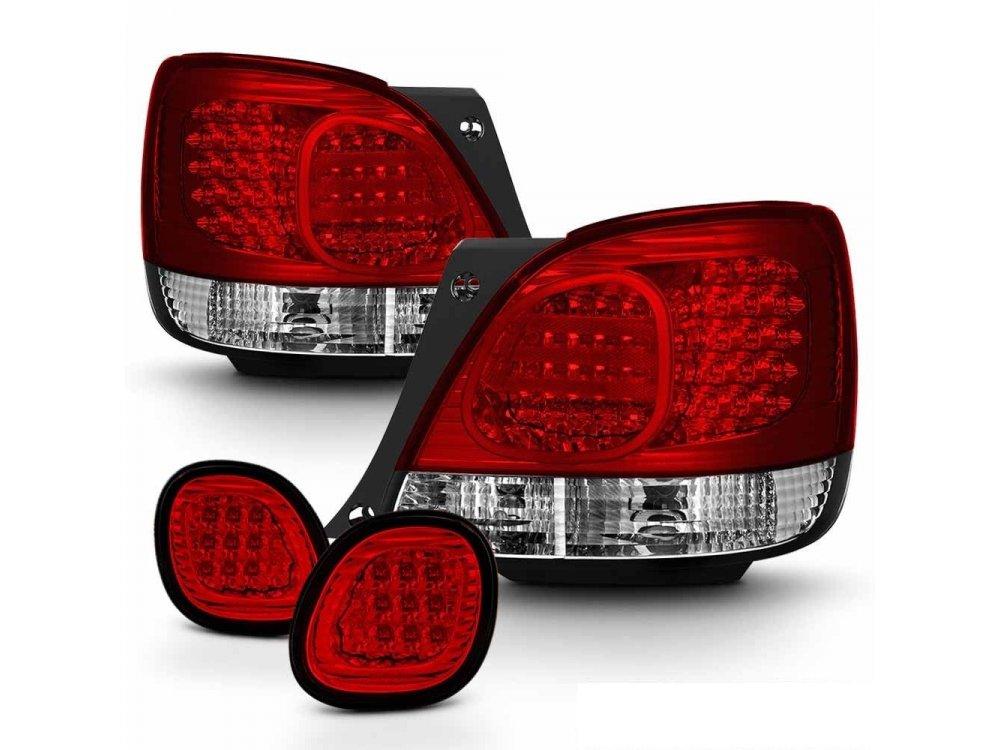 Задние тюнинговые фонари LED Red Crystal от CarID на Lexus GS II
