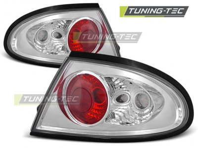 Задние фонари Chrome от Tuning-Tec на Mazda 323F V