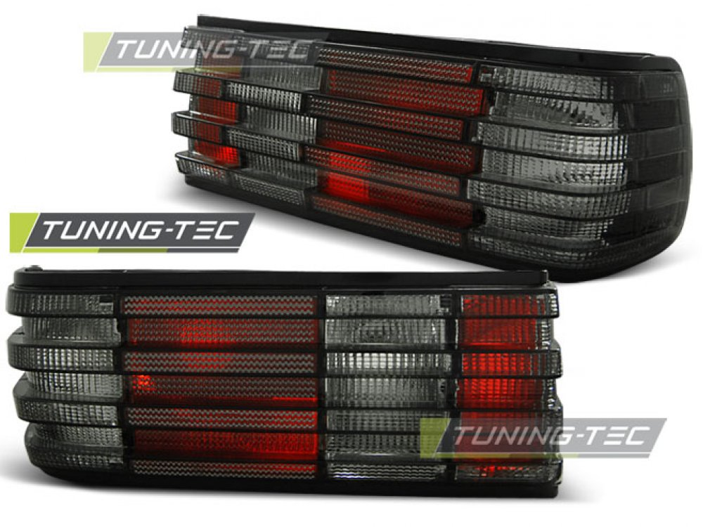 Задние фонари Red Smoke от Tuning-Tec на Mercedes S класс W126