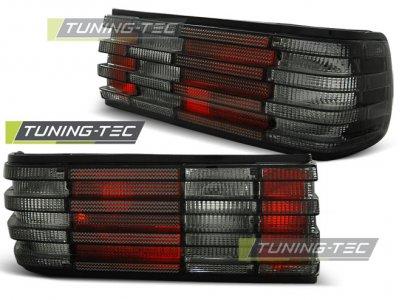 Задняя альтернативная оптика Red Smoke от Tuning-Tec на Mercedes S класс W126