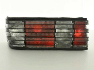 Задние фонари Red Smoke на Mercedes S класс W126