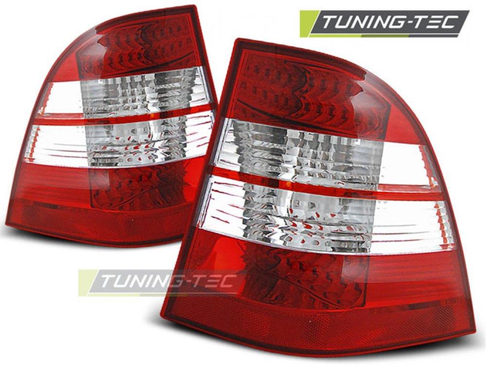 Задние фонари LED Red Crystal от Tuning-Tec на Mercedes ML класс W163