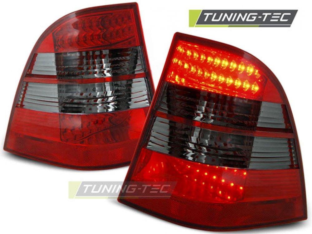 Задние фонари LED Red Smoke от Tuning-Tec на Mercedes ML класс W163