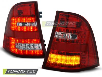Задние фонари W164 Look LED Red Crystal от Tuning-Tec на Mercedes ML класс W163