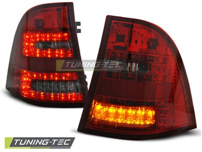 Задние фонари W164 Look LED Red Smoke от Tuning-Tec на Mercedes ML класс W163
