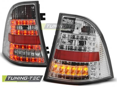 Задние фонари W164 Look LED Chrome от Tuning-Tec на Mercedes ML класс W163