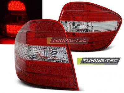 Задняя альтернативная оптика LED Red Crystal от Tuning-Tec на Mercedes ML класс W164
