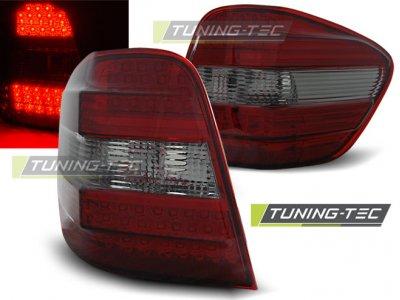 Задняя альтернативная оптика LED Red Smoke от Tuning-Tec на Mercedes ML класс W164