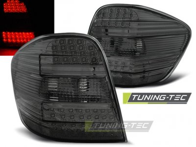 Задняя альтернативная оптика LED Smoke от Tuning-Tec на Mercedes ML класс W164