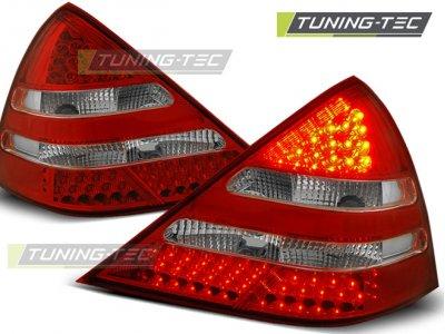 Задние фонари LED Red Crystal от Tuning-Tec на Mercedes SLK класс R170