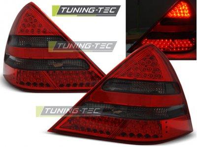 Задние фонари LED Red Smoke от Tuning-Tec на Mercedes SLK класс R170