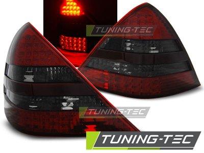 Задняя альтернативная оптика LED Red Smoke Var2 от Tuning-Tec на Mercedes SLK класс R170