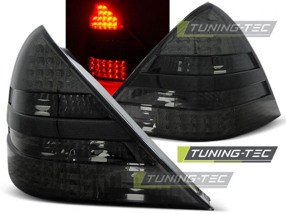 Задние фонари LED Smoke от Tuning-Tec на Mercedes SLK класс R170