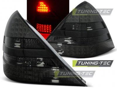 Задняя альтернативная оптика LED Smoke от Tuning-Tec на Mercedes SLK класс R170