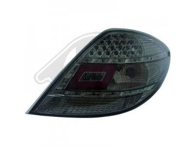 Задние фонари LED Smoke от HD на Mercedes SLK класс R171