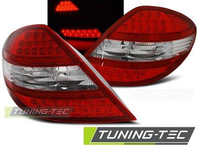 Задние фонари LED Red Crystal от Tuning-Tec на Mercedes SLK класс R171