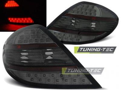 Задние фонари LED Smoke от Tuning-Tec на Mercedes SLK класс R171