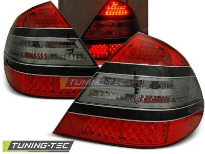 Задние фонари LED Red Smoke от Tuning-Tec на Mercedes E класс W211
