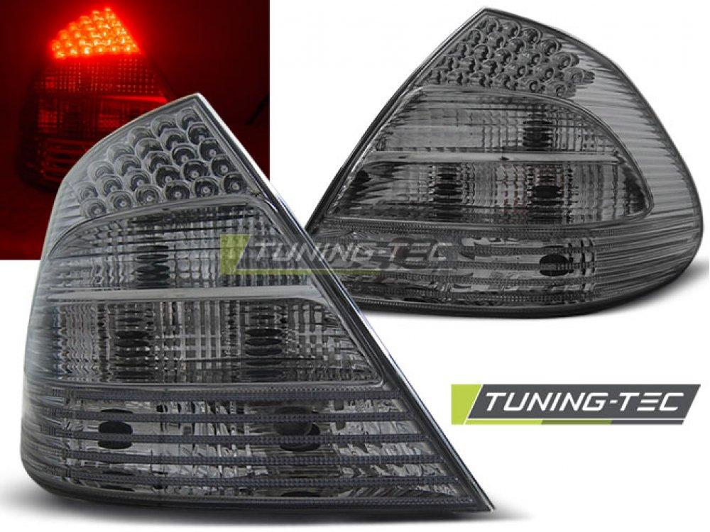 Задние фонари в стиле рестайла LED Smoke от Tuning-Tec на Mercedes E класс W211