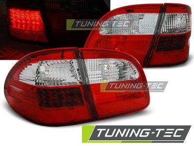 Задние фонари LED Red Crystal от Tuning-Tec на Mercedes E класс W211 Wagon