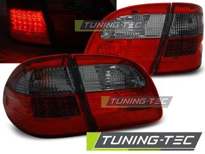 Задние фонари LED Red Smoke от Tuning-Tec на Mercedes E класс W211 Wagon