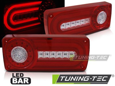 Задние фонари LED Red Crystal от Tuning-Tec на Mercedes G класс W463