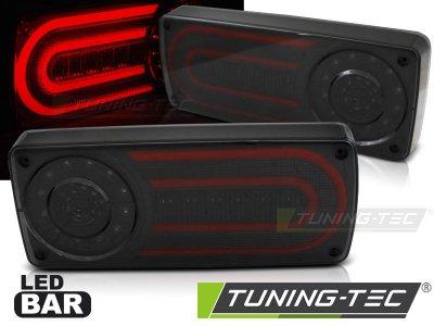 Задние фонари LED Smoke от Tuning-Tec на Mercedes G класс W463