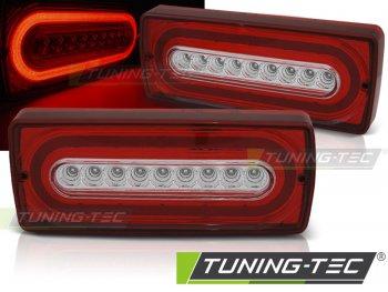 Задние фонари Brabus Look LED Red Crystal от Tuning-Tec на Mercedes G класс W463
