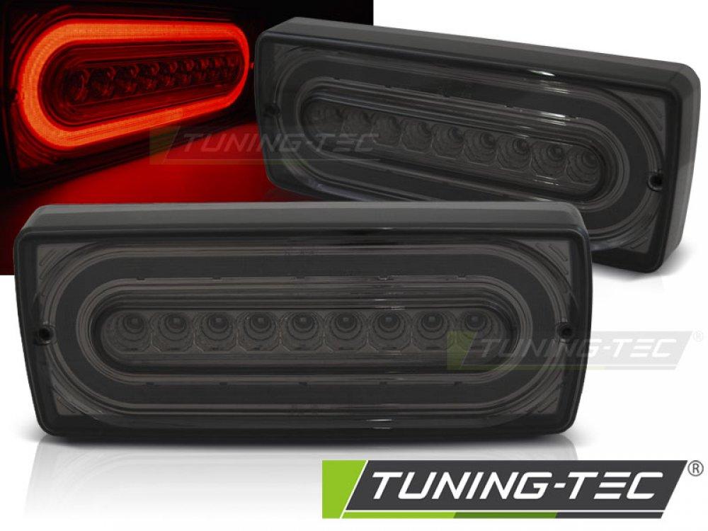 Задние фонари Brabus Look LED Smoke от Tuning-Tec на Mercedes G класс W463