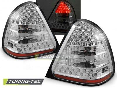 Задние светодиодные фонари Led Chrome от Tuning-Tec на Mercedes C класс W202