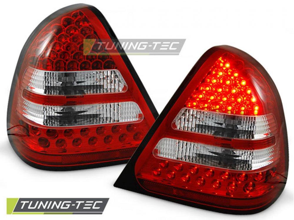Задние фонари Led Red Crystal от Tuning-Tec на Mercedes C класс W202