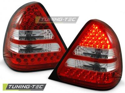 Задние светодиодные фонари Led Red Crystal от Tuning-Tec на Mercedes C класс W202