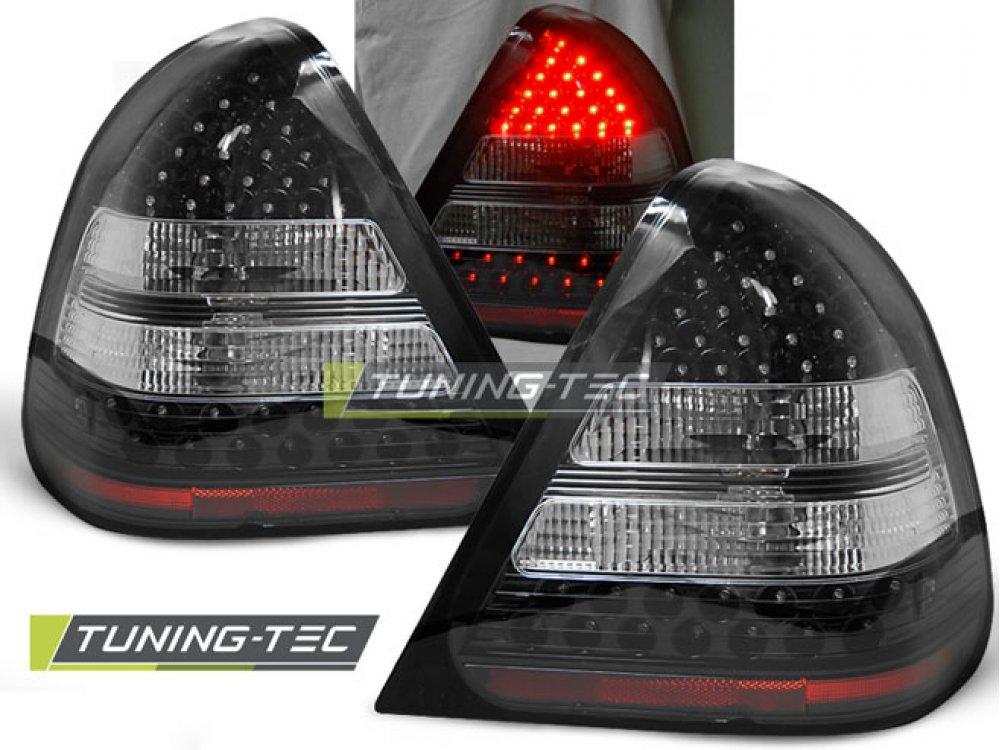 Задние фонари Led Black от Tuning-Tec на Mercedes C класс W202