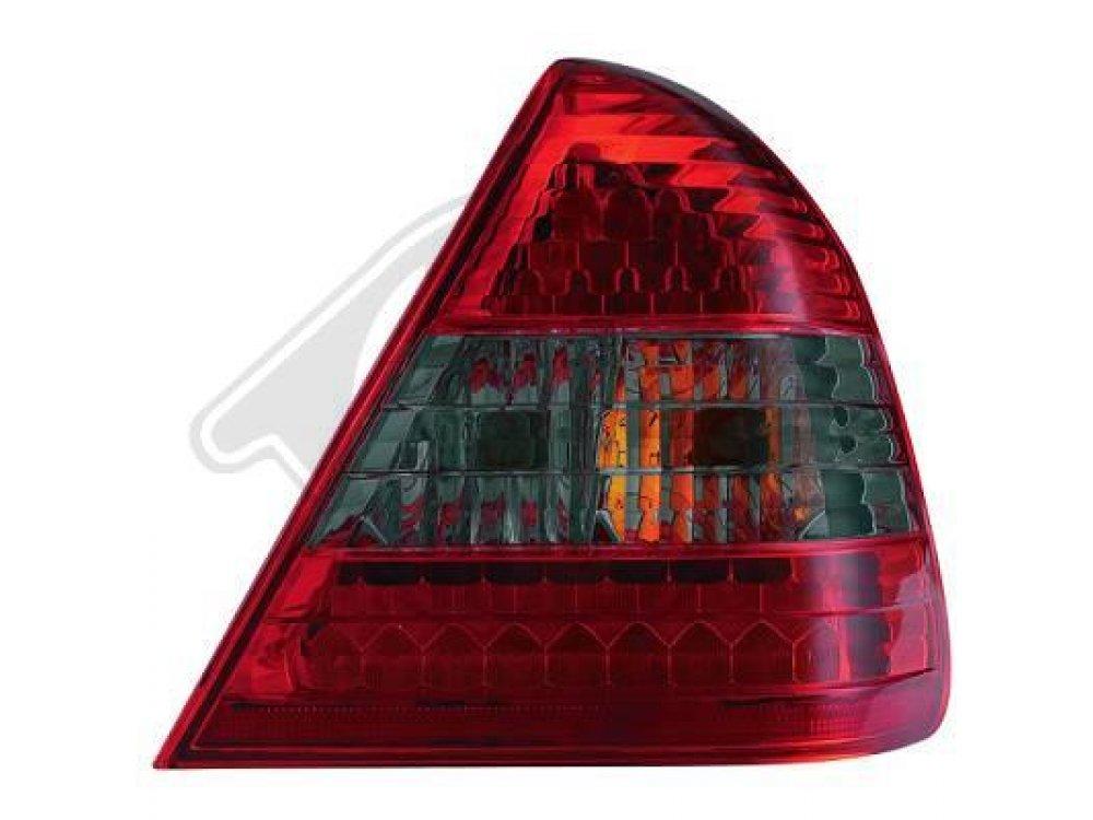 Задние фонари Led Red Smoke на Mercedes C класс W202