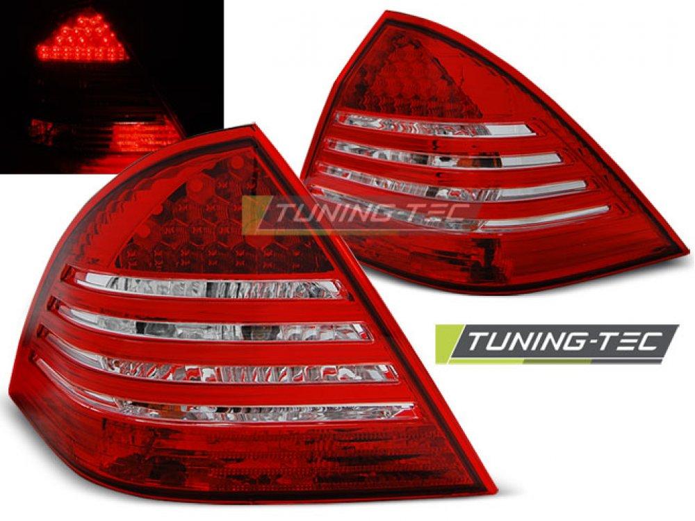 Задние фонари Led Red Crystal от Tuning-Tec на Mercedes C класс W203