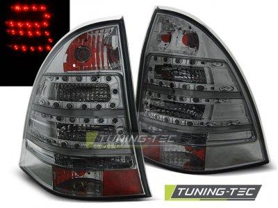 Задние фонари Led Smoke от Tuning-Tec на Mercedes C класс W203 Kombi
