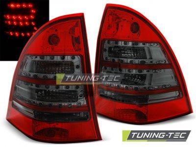 Задние фонари Led Red Smoke от Tuning-Tec на Mercedes C класс W203 Kombi