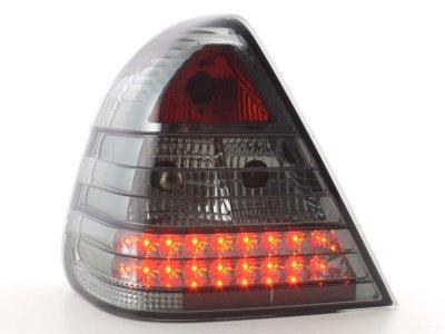 Задние тюнинговые фонари Led Smoke на Mercedes C класс W202