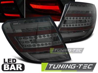 Задние светодиодные фонари LED Smoke от Tuning-Tec на Mercedes C класс W204 Kombi