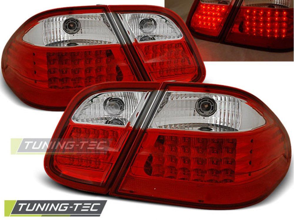 Задние фонари LED Red Crystal от Tuning-Tec на Mercedes CLK класс W208