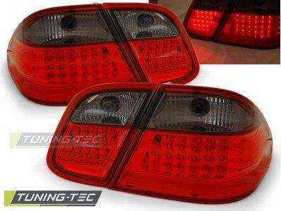 Задние диодные фонари LED Red Smoke от Tuning-Tec на Mercedes CLK класс W208