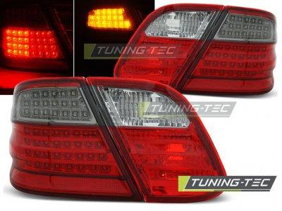 Задние светодиодные фонари LED Full Red Smoke от Tuning-Tec на Mercedes CLK класс W208